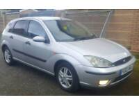 FORD FOCUS 1.8 TDDI 2002 LONG MOT DRIVES VERY GOOD MOTORWAY MILES CHEAP AND RELIABLE