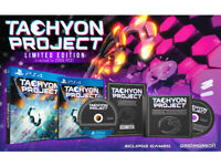 SONY PLAYSTATION PS4 GAME TACHYON PROJECT LIMITED EDITION & CERTIFICATE CD SET.*