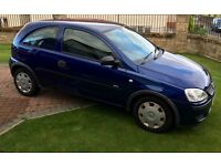 Vauxhall Corsa 05 1L Ideal first car Genuine low miles MOT 23rd JUNE 2017 Private Sale