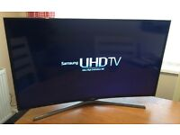 CURVED !! SAMSUNG 40in UHD (4K) SMART LED TV -1200hz- FREEVIEW/SATELLITE HD -WIFI - WARRANTY