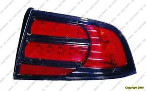 Tail Lamp Passenger Side Type S Acura TL 2007-2008