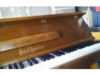 Boyds of london piano ,lovely,prob late 1960,been in family since ,good condition,