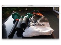 Black and Decker Leaf Blower/Vacuum. Hardly used. Excellent condition.