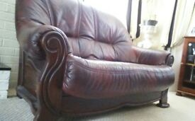 Leather sofa for sale....