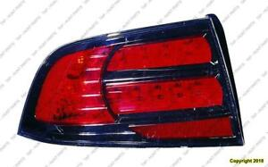 Tail Light Driver Side Type S High Quality Acura TL 2007-2008