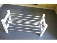 Ikea shoe rack not long new perfect condition £10