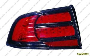 Tail Light Driver Side Type S Acura TL 2007-2008