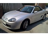 MG TF 1.8 with leather, FSH, hard and soft tops and tonneau
