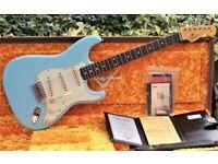 Fender Custom Shop '59 Ltd Reissue Stratocaster Journeyman Relic 2019 Daphne Blue