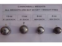 Lead Boat Fishing Weights ((Sinkers)