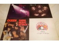 Queen/ Freddie Mercury Vinyl Lot (Some Rare and 1x Signed Roger Taylor) SOLD