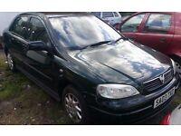 V ASTRA 5 DOORS LONG 11 MONTHS MOT C/L E/W PAS VERY GOOD FAMILY CAR READY TO GO..