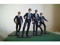 Film memorabilia - seven assorted figures from films