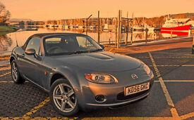 Mazda MX5 low milage specimen at bargain price