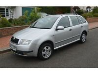 RELIABLE Skoda Fabia Elegance 2002 Estate 1.9 TDI. FSH. SERVICE carried out and MOT passed 25/4/17.