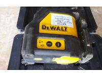 Dewalt laser 2 laser level DW088