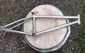 Dialled MX20 BMX frame