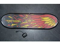 PS3 Wireless Tony Hawk Skateboard with wireless receiver dongle PS3