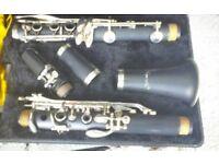 Clarinet , will suit beginner. Make Artemis.