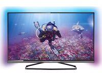 PHILIPS 58 INCH 4K ULTRA HD 3D SMART LED TV (58PUT8509)