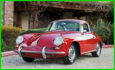 1964 Porsche 356 C Reutter Coupe 356C ELECTRIC SUNROOF COUPE BEAUTIFUL DRIVER CONDITION