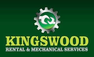 KINGSWOODRENTAL AND MECHANICAL SERVICES Mount Druitt Blacktown Area Preview