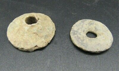 Ancient Roman lead fishing weights