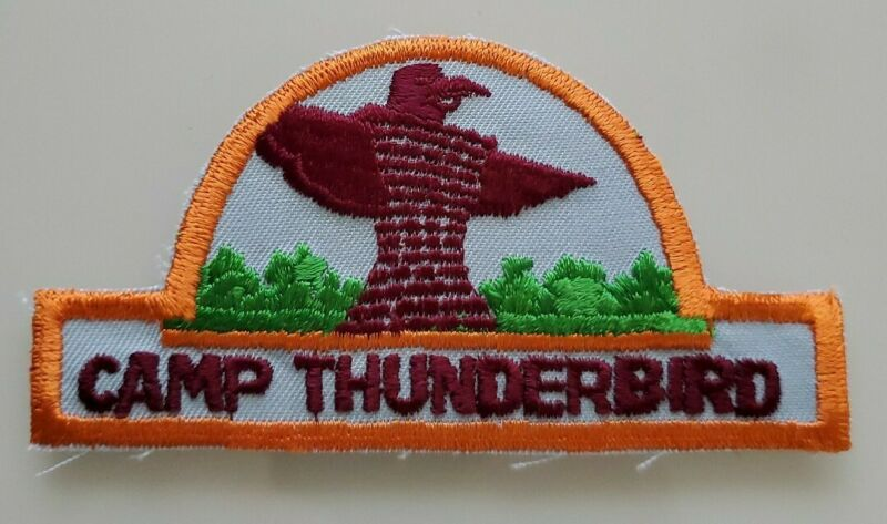 Vintage BSA Camp Thunderbird Patch