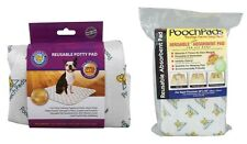 Pooch Pad Reusable Potty Pad for Dogs - potty training puppies & home alone dog
