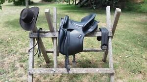 Beautiful Zaldi Saddle - Baroque Country Dressage Scotsdale Denmark Area Preview