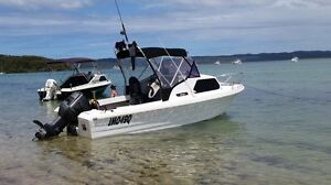 19 FOOT SAVAGE ATLANTIC HALF CABIN BOAT, FISHING AND SKIING Thornlands Redland Area Preview