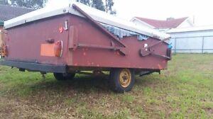 Old camper trailer for restoration Davoren Park Playford Area Preview