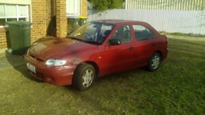 Hyundai excel auto 1998 Woodville Gardens Port Adelaide Area Preview