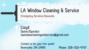 Window Cleaning & Services