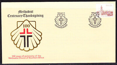 South Africa 1983 Methodist Church Centenary  First Day Cover