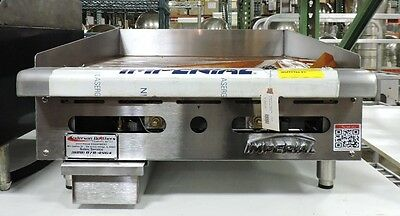 Imperial Itg-24 Commercial 24 Gas Thermostat Countertop Griddle