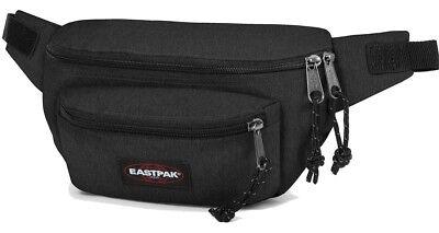 EASTPAK Bauchtasche Schwarz DOGGY BAG 3 L Black Gürteltasche Hüfttasche Black