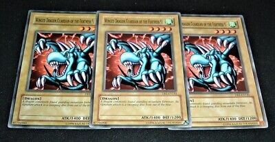 Yugioh Winged Dragon, Guardian of the Fortress #1 DB1-EN141 NM/MINT Common