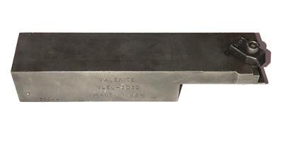 Valenite Vlel-203d 1 Square Shank Holder For Kennametal Top Notch Inserts