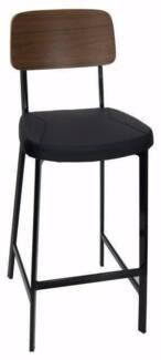 Bar Stools - 4 Set - High Quality Hospitality Grade