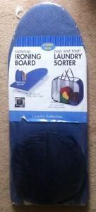 BRAND NEW - Tabletop Ironing Board and Laundry Sorter