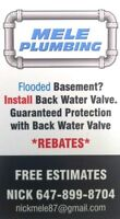 Backwater Valve Installation *LOWEST PRICE GUARANTEED*