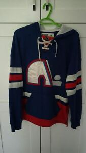 Awesome Quebec Nordiques CCM hoodie!