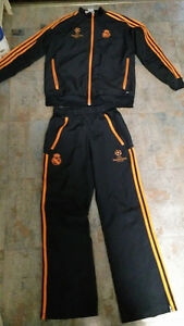 2013-14 Real Madrid  Pre-Game Tracksuit Size: Child/Youth L