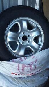 Honda snow tires with rims