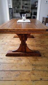 Pedestal Farmhouse Table London Ontario image 2