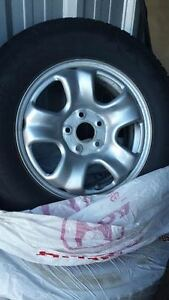 Honda snow tires with rims