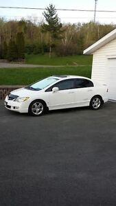 2008 Acura CSX Premium with ( Leather )