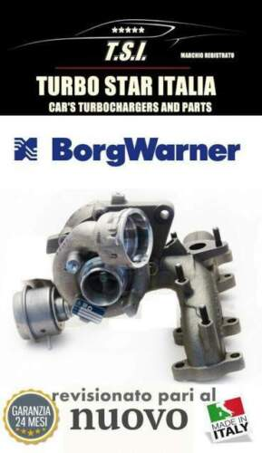 Turbina turbocompressore volkswagen golf touran...