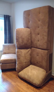 One year old 3-Piece sectional sofa